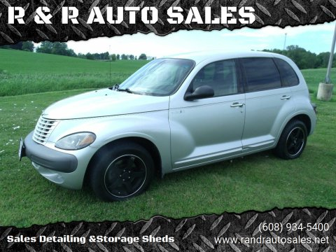 2001 Chrysler PT Cruiser for sale at R & R AUTO SALES in Juda WI