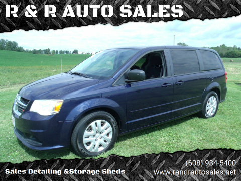 2015 Dodge Grand Caravan for sale at R & R AUTO SALES in Juda WI