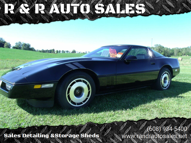 1985 Chevrolet Corvette for sale at R & R AUTO SALES in Juda WI