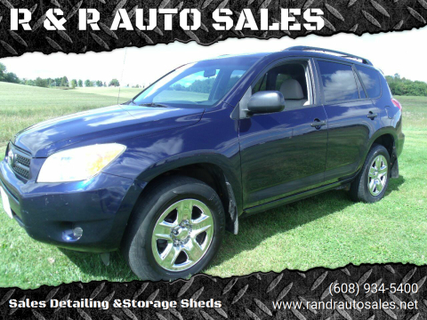 2007 Toyota RAV4 for sale at R & R AUTO SALES in Juda WI