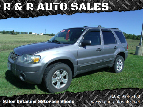 2007 Ford Escape for sale at R & R AUTO SALES in Juda WI