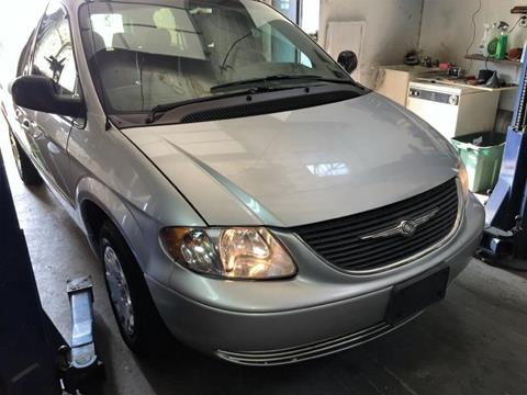 2002 Chrysler Town and Country for sale at Nicks Auto Sales Co in West New York NJ
