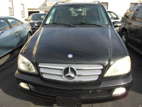 2004 Mercedes-Benz M-Class for sale at Nicks Auto Sales Co in West New York NJ