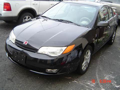 2003 Saturn Ion for sale at Nicks Auto Sales Co in West New York NJ