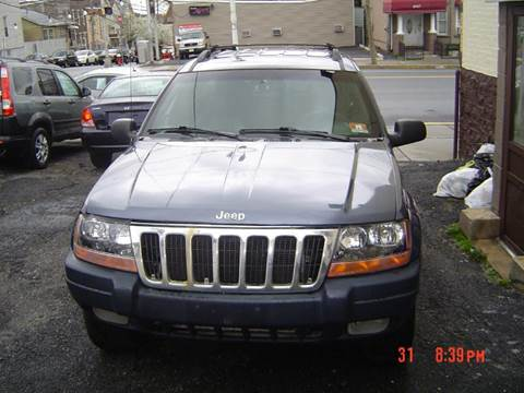 2001 Jeep Grand Cherokee for sale at Nicks Auto Sales Co in West New York NJ
