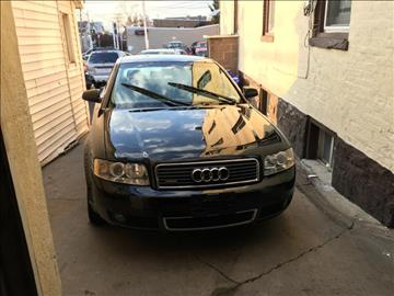 2003 Audi A4 for sale at Nicks Auto Sales Co in West New York NJ