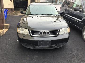 1999 Audi A6 for sale at Nicks Auto Sales Co in West New York NJ