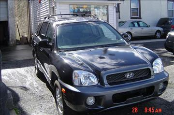 2004 Hyundai Santa Fe for sale at Nicks Auto Sales Co in West New York NJ