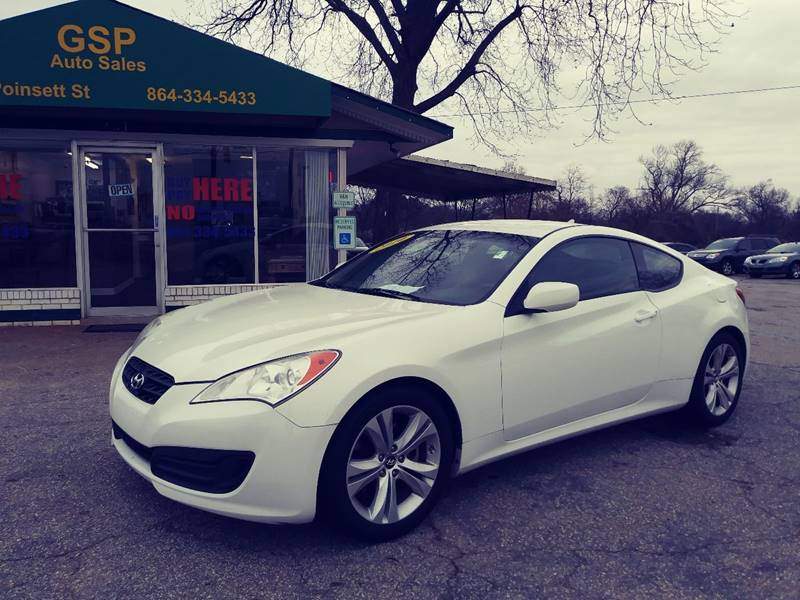 2010 Hyundai Genesis Coupe For Sale At GSP AUTO SALES In Greer SC
