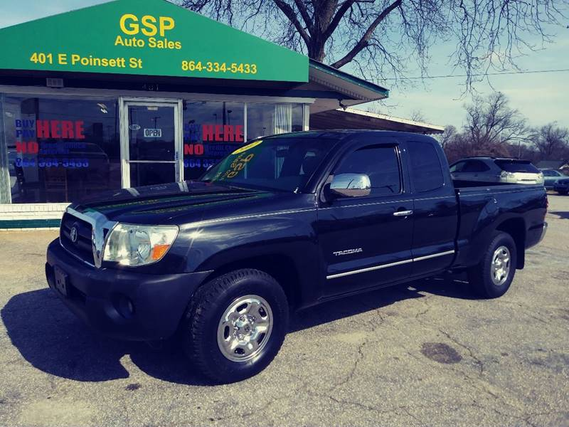 2007 Toyota Tacoma For Sale At GSP AUTO SALES In Greer SC