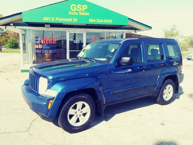 2010 Jeep Liberty For Sale At GSP AUTO SALES In Greer SC