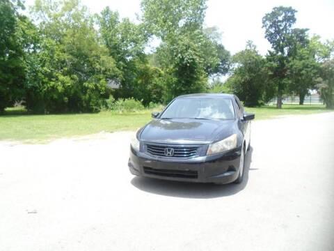 2008 Honda Accord for sale in Houston, TX