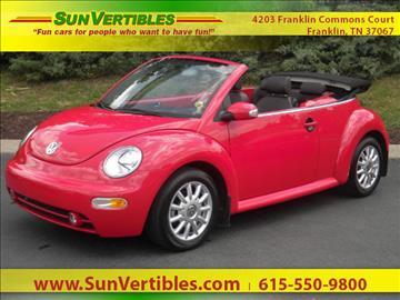 2005 Volkswagen New Beetle for sale in Franklin, TN