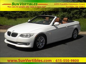 2012 BMW 3 Series for sale in Franklin, TN