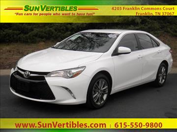 2016 Toyota Camry for sale in Franklin, TN