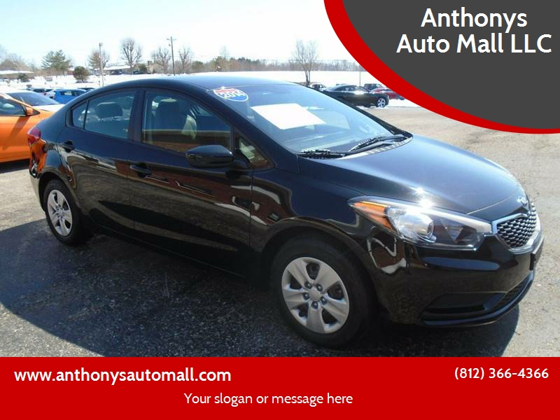 2014 Kia Forte For Sale At Anthonys Auto Mall LLC In New Salisbury IN
