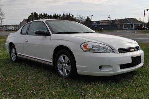 2006 Chevrolet Monte Carlo for sale at Van Allen Auto Sales in Valatie NY