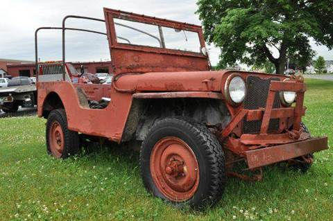 1947 Jeep Willys for sale at Van Allen Auto Sales in Valatie NY