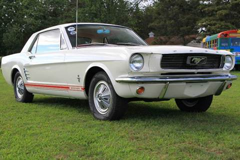 1966 Ford Mustang for sale at Van Allen Auto Sales in Valatie NY