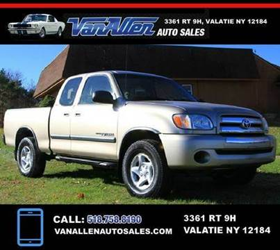 2004 Toyota Tundra for sale at Van Allen Auto Sales in Valatie NY