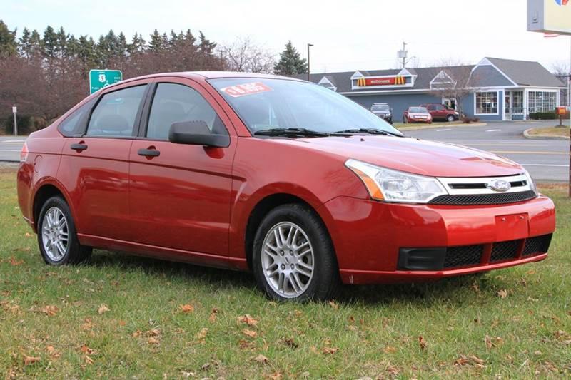 2011 Ford Focus for sale at Van Allen Auto Sales in Valatie NY