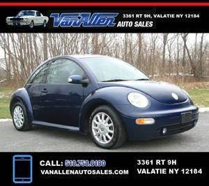 2004 Volkswagen New Beetle for sale at Van Allen Auto Sales in Valatie NY