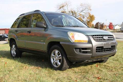 2005 Kia Sportage for sale at Van Allen Auto Sales in Valatie NY