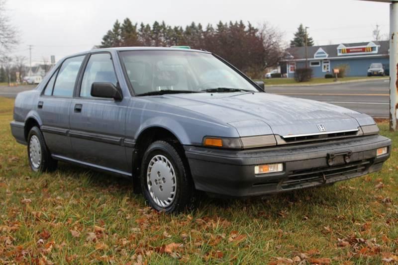 1988 Honda Accord for sale at Van Allen Auto Sales in Valatie NY