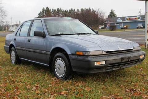 1988 Honda Accord for sale at Van Allen Auto Sales in Valatie NY