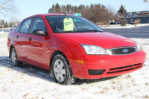 2007 Ford Focus for sale at Van Allen Auto Sales in Valatie NY