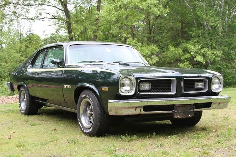 1974 Pontiac GTO for sale at Van Allen Auto Sales in Valatie NY