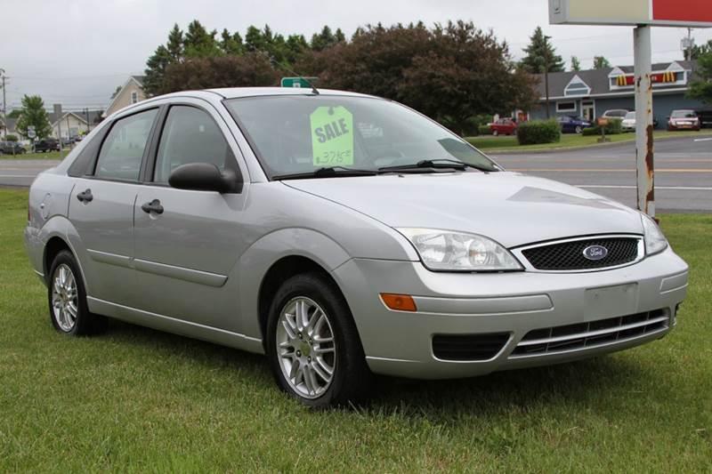 2007 Ford Focus for sale at Van Allen Auto Sales in Valatie NY