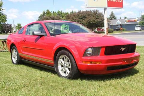 2007 Ford Mustang for sale at Van Allen Auto Sales in Valatie NY