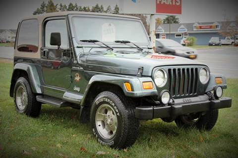 2002 Jeep Wrangler for sale at Van Allen Auto Sales in Valatie NY