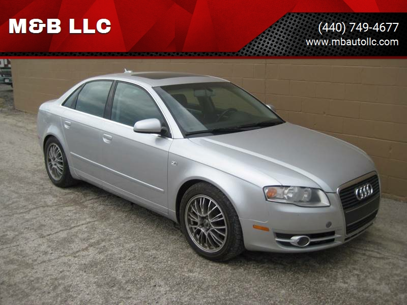 Audi A T In Eastlake OH MB LLC - Audi a4 2006