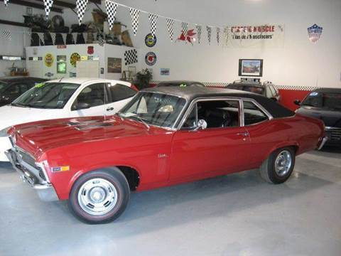 1969 Chevrolet Nova for sale at Classic Auto Sales in Maiden NC