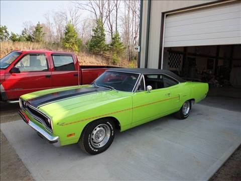 1970 Plymouth Roadrunner for sale at Classic Auto Sales in Maiden NC
