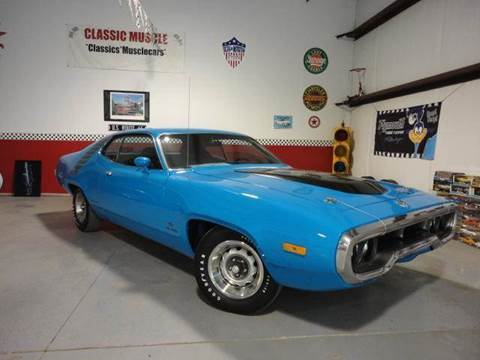 1972 Plymouth Road Runner-GTX for sale at Classic Auto Sales in Maiden NC