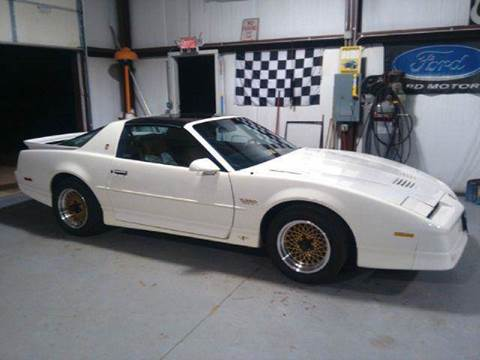 1989 Pontiac Trans Am for sale at Classic Auto Sales in Maiden NC