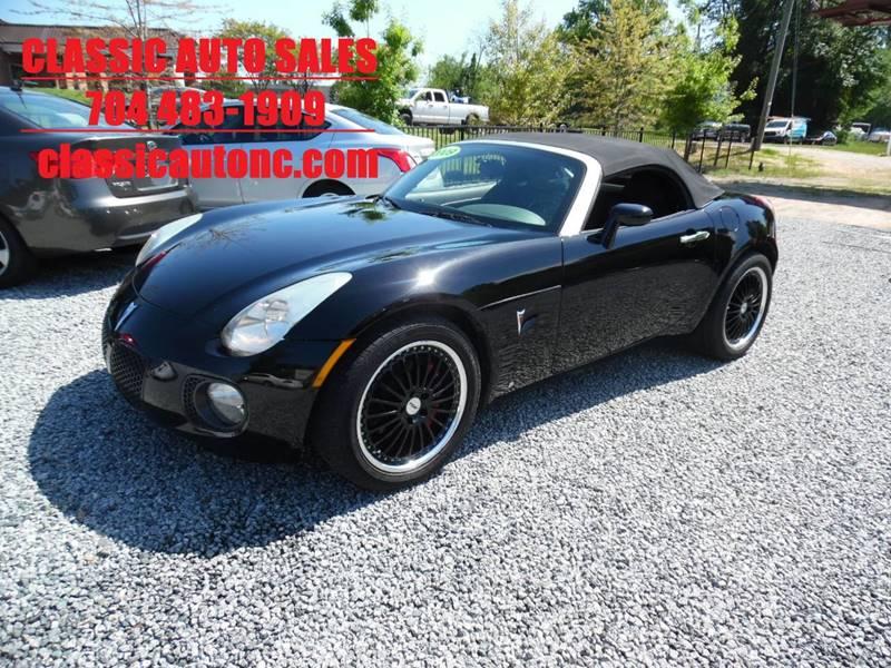 2009 pontiac solstice gxp 2dr convertible in denver nc. Black Bedroom Furniture Sets. Home Design Ideas