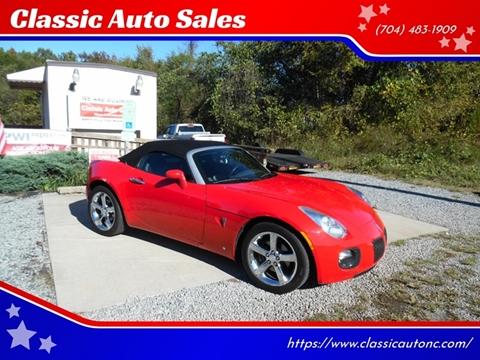 2007 Pontiac Solstice for sale in Maiden, NC