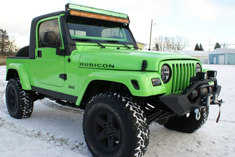 2005 Jeep Wrangler Unlimited Rubicon 4WD 2dr SUV   Angola IN