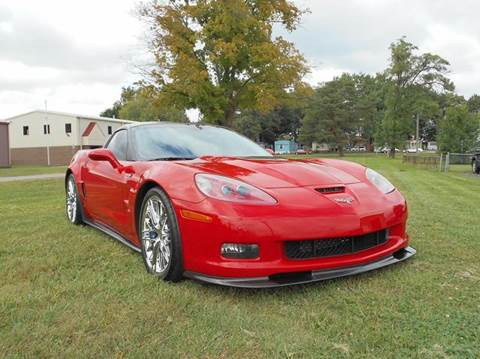 2009 Chevrolet Corvette for sale at MARK CRIST MOTORSPORTS in Angola IN