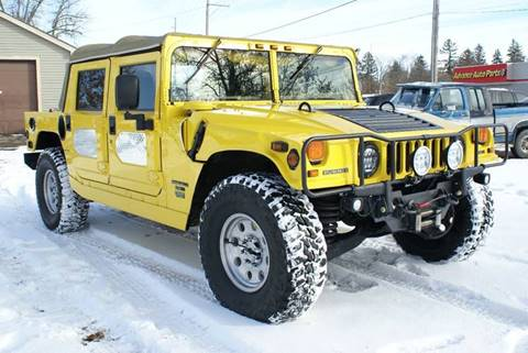 Hummers For Sale >> Am General Hummer For Sale In Litchfield Mn Carsforsale Com