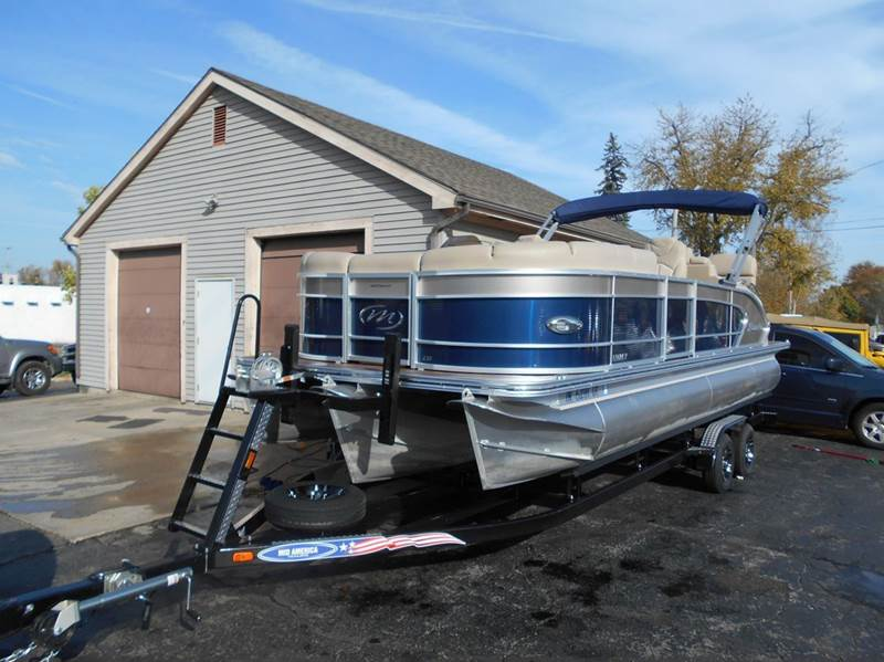 2014 Manitou 230 Legacy VP SRS Tri-toon - Angola IN