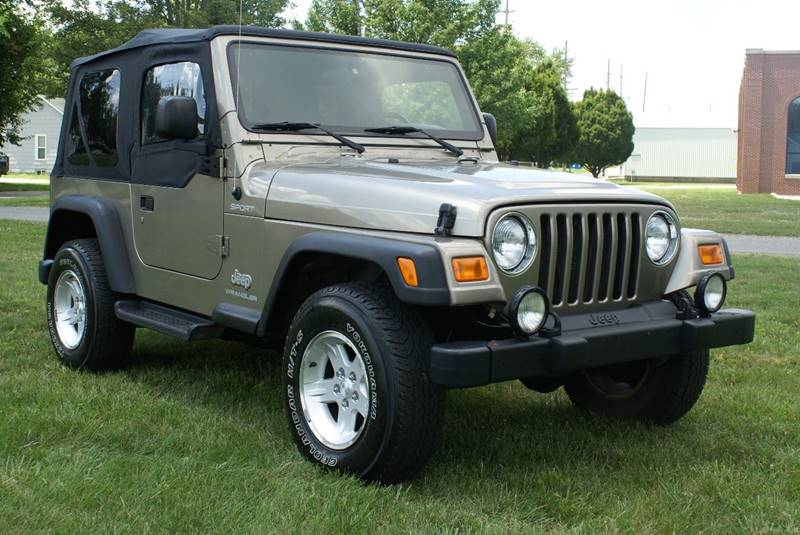 2004 Jeep Wrangler Sport 4WD 2dr SUV - Angola IN