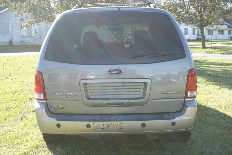 2005 Ford Freestar Limited 4dr Mini Van In Angola IN