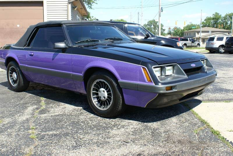 1986 Ford Mustang For Sale Carsforsale Com
