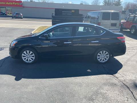 2015 Nissan Sentra SV for sale at MARK CRIST MOTORSPORTS in Angola IN