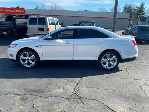 2011 Ford Taurus SHO for sale at MARK CRIST MOTORSPORTS in Angola IN
